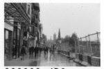 Princes' Street and Calton Hill in the rain I